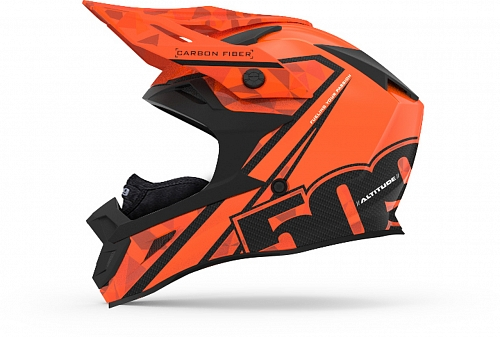 Шлем карбоновый 509 Altitude Carbon Orange, размер S